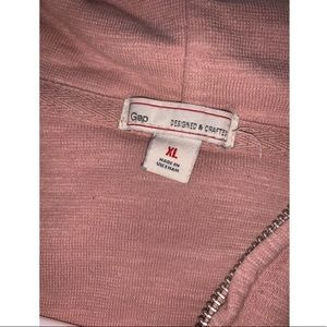 GAP Sweaters - Women's Gap Peach Full Zip Sweatshirt